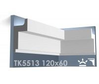 ТК5513 Карниз из гипса для подсветки АртМодуль h120x60