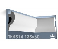 ТК5514 Карниз из гипса для подсветки АртМодуль h135x60