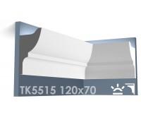 ТК5515 Карниз из гипса для подсветки АртМодуль h120x70