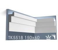 ТК5518 Карниз из гипса для подсветки АртМодуль h150x115