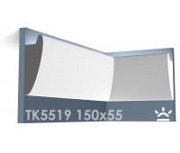 ТК5519 Карниз из гипса для подсветки АртМодуль h150x55