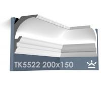ТК5522 Карниз из гипса для подсветки АртМодуль h200x150