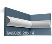 ТМ5020 молдинг из гипса АртМодуль h28х14мм