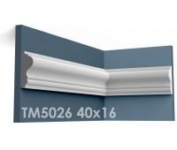 ТМ5026 молдинг из гипса АртМодуль h40х16мм