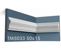 ТМ5033 молдинг из гипса АртМодуль h50х15мм