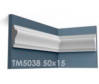ТМ5038 молдинг из гипса АртМодуль h50х15мм