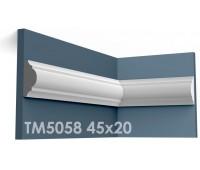 ТМ5058 молдинг из гипса АртМодуль h45x20мм