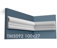 ТМ5092 молдинг из гипса АртМодуль h100х27мм