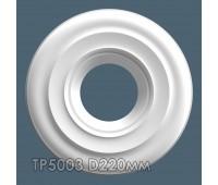 ТР5003 потолочная розетка из гипса АртМодуль D220мм