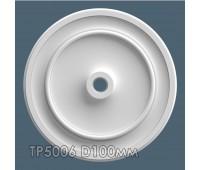 ТР5006 потолочная розетка из гипса АртМодуль D100мм