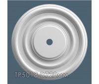 ТР5018 потолочная розетка из гипса АртМодуль D720мм